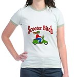 Scooter Bitch Jr. Ringer T-Shirt