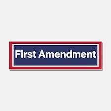 First Amendment Car Magnet 10 X 3