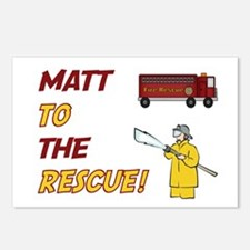 Matt to the Rescue!  Postcards (Package of 8)