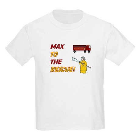 Max to the Rescue! Kids Light T-Shirt