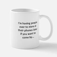 Having People Over Mug
