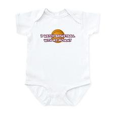 Los Angeles 1 Basketball Momm Infant Bodysuit