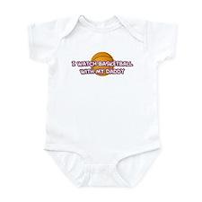 Los Angeles 1 Basketball Dadd Infant Bodysuit