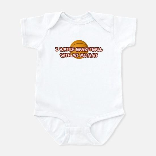 Miami Basketball Mommy Infant Bodysuit