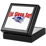 Eat Sleep Surf Keepsake Box