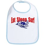 Eat Sleep Surf Bib