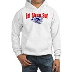Eat Sleep Surf Hooded Sweatshirt