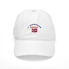 #1 Norwegian Grandpa Baseball Baseball Cap