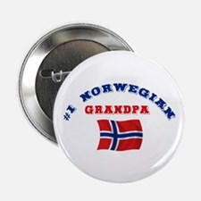 "#1 Norwegian Grandpa 2.25"" Button"
