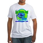 Eat Sleep Surf Fitted T-Shirt