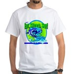 Eat Sleep Surf White T-Shirt