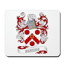 Denison Coat of Arms Mousepad