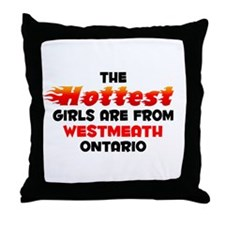 Hot Girls: Westmeath, ON Throw Pillow