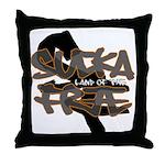 Sucka Free Throw Pillow