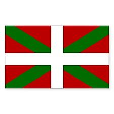 Basque Flag Rectangle Decal