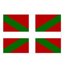 Basque Flag Postcards (Package of 8)