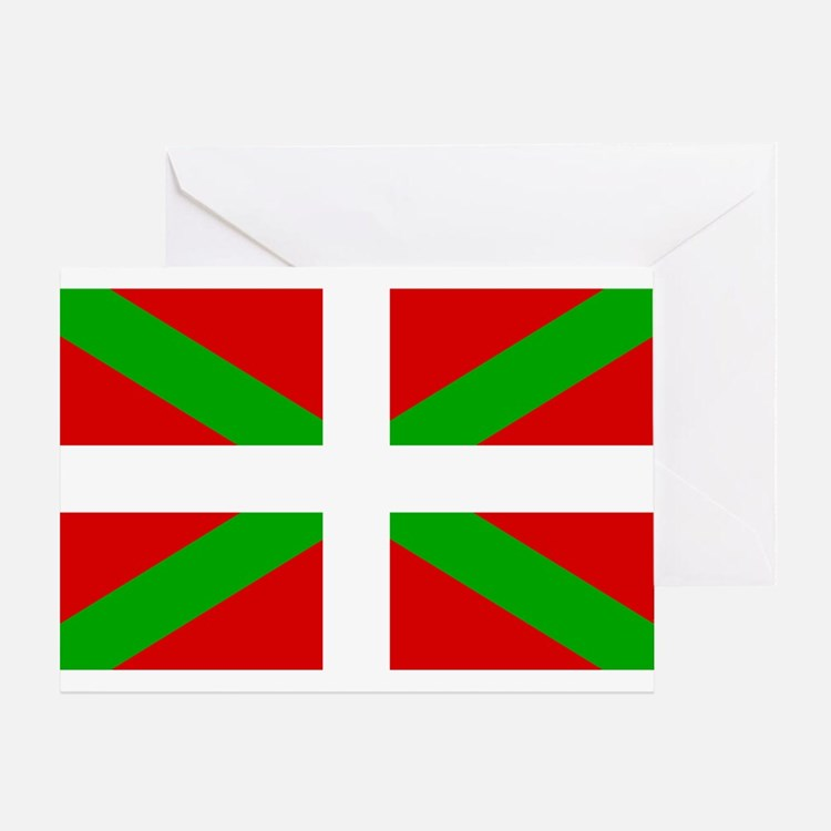 Basque Flag Greeting Card