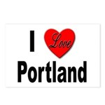 I Love Portland Postcards (Package of 8)