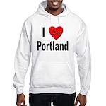 I Love Portland Hooded Sweatshirt