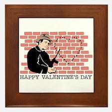 St. Valentine's Day Massacre Framed Tile