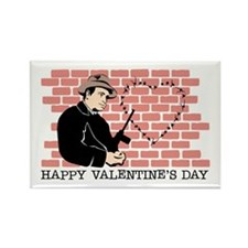 St. Valentine's Day Massacre Rectangle Magnet