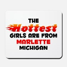 Hot Girls: Marlette, MI Mousepad