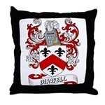Dirwell Coat of Arms Throw Pillow