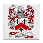 Dirwell Coat of Arms Tile Coaster