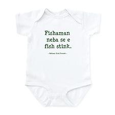 Belizean Proverb - Fish Body Suit