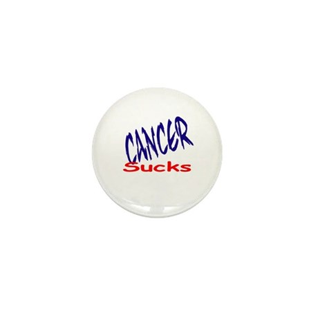 Cancer Sucks Mini Button (100 pack)
