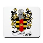 Dodge Coat of Arms Mousepad