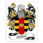 Dodge Coat of Arms Small Poster