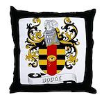 Dodge Coat of Arms Throw Pillow