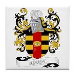 Dodge Coat of Arms Tile Coaster