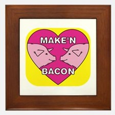 Make'n Bacon Framed Tile