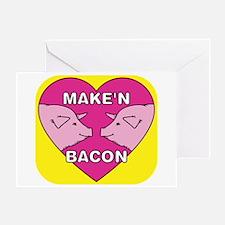 Make'n Bacon Greeting Card