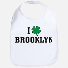 I Shamrock Love Brooklyn Bib