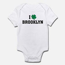 I Shamrock Love Brooklyn Infant Bodysuit