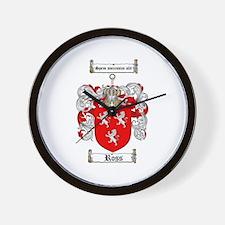 Ross Coat of Arms Wall Clock