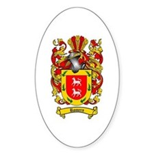 Romero Coat of Arms Oval Decal