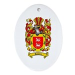 Romero Coat of Arms Oval Ornament
