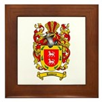 Romero Coat of Arms Framed Tile