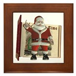 Santa Framed Tile
