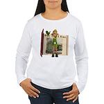 Santa's Elf Women's Long Sleeve T-Shirt