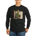 Santa's Elf Long Sleeve Dark T-Shirt
