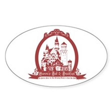 Aurora's Bed & Breakfast Oval Decal