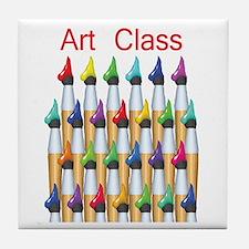 Art Class Tile Coaster