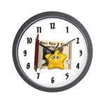 Twinkle Star Wall Clock