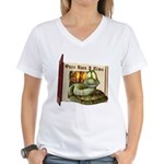 Asp N. Snake Women's V-Neck T-Shirt