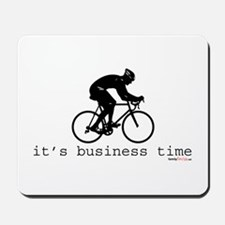 It's Business Time Cyling Mousepad